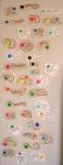 Nice drying rack for magnets, aka my fridge