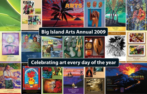 Arts Annual 2009 Postcard