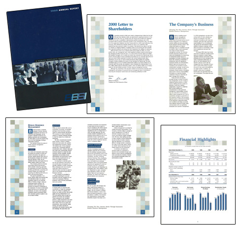 Business Services Annual Report