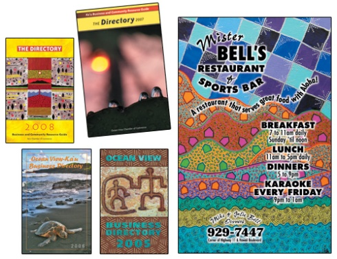 Ka'u Business Directory Covers