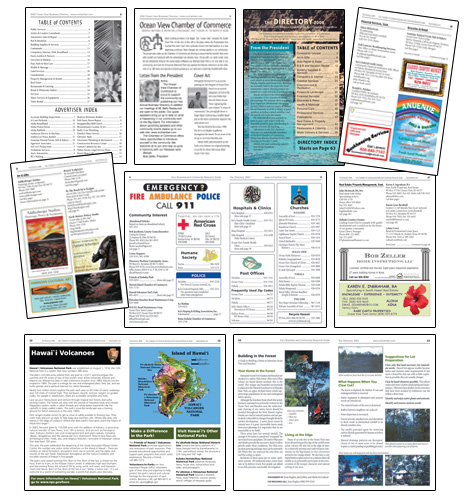 Ka'u Directory Inside Pages