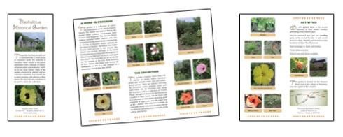 Naohulelua Garden Tour Brochure